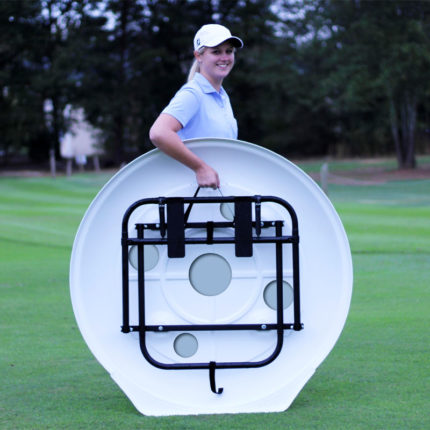 The Golf Target back